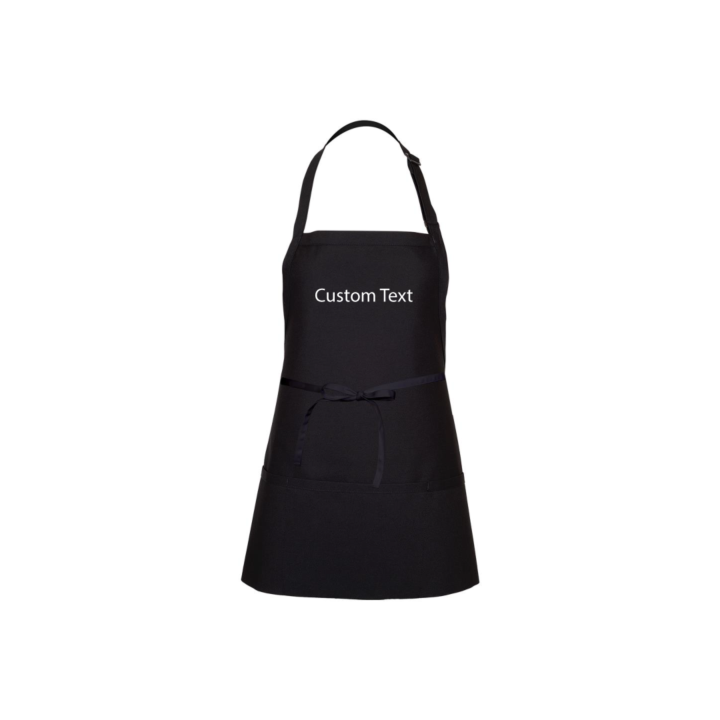 Custom embroidered apron with your own wording. Comes with its own gift box, just add to your order.